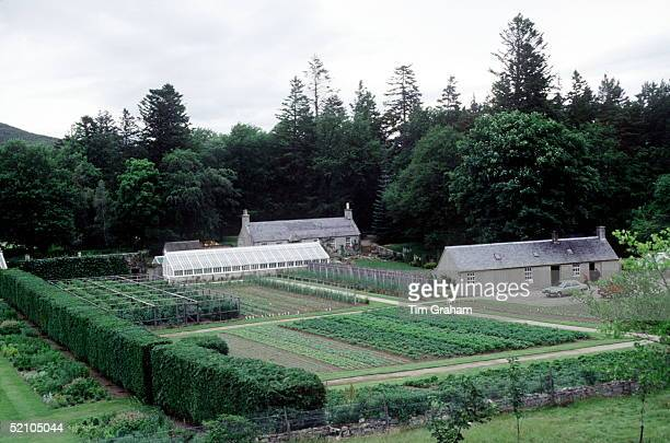 Balmoral Estate Greenhouse And Vegetable Garden