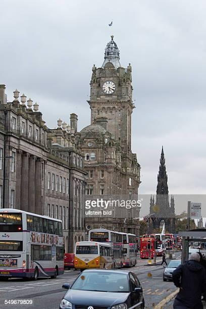 Balmoral Hotel an der Princes Street in Edinburgh