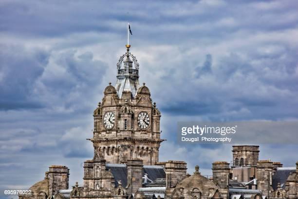 Balmoral Hotel Clock Tower, Princes Street, Edinburgh