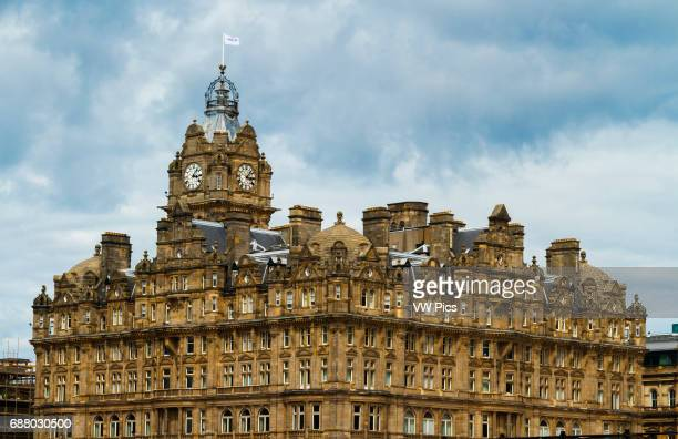 Balmoral Hotel. Edinburgh city. Scotland, UK, Europe.