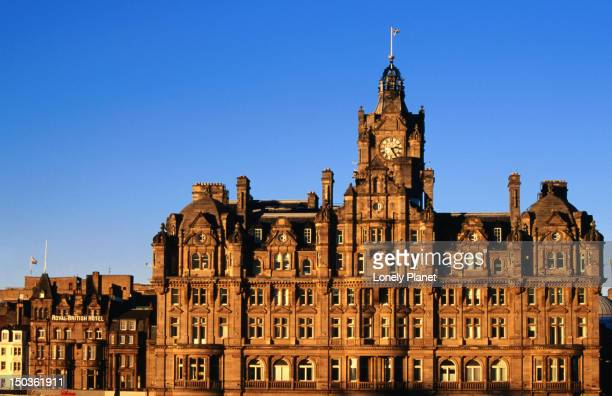 balmoral hotel. - balmoral hotel stock pictures, royalty-free photos & images