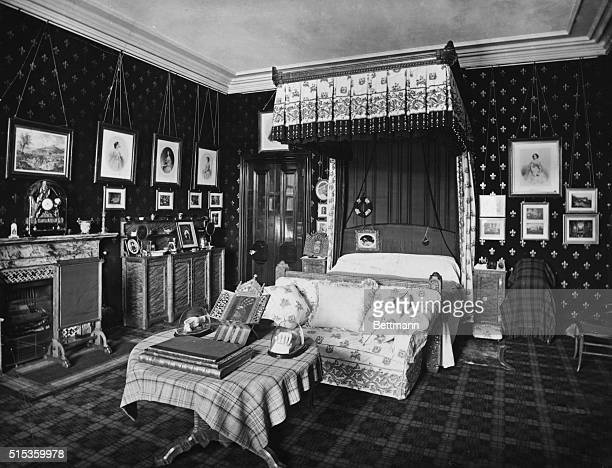 Queen Victoria's bedroom at Balmoral in her early widowhood
