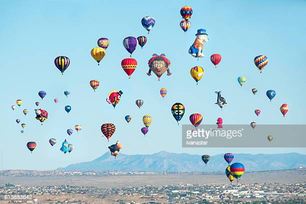Baloon fiesta in Albuquerque, New Mexico.