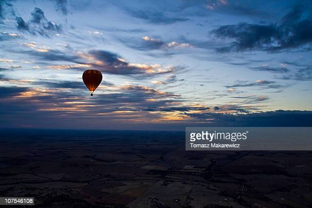 Balooning in Northam, Western Australia