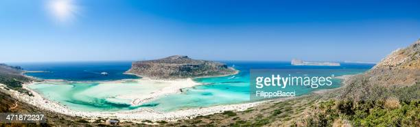 Balos beach in Crete, Greece