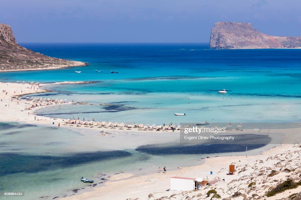 Balos Beach : Stock Photo