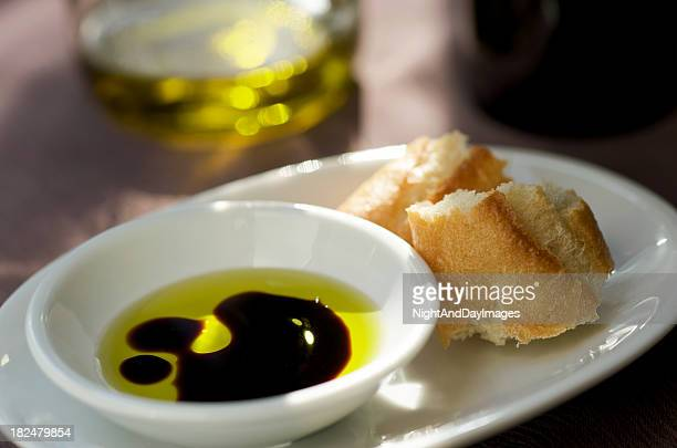 Vinagre Balsâmico e de azeite