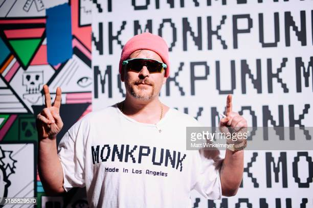 Balt Getty attends the celebration of the opening of his new store Monk Punk with an East LA style block party at Monk Punk on June 13 2019 in Los...