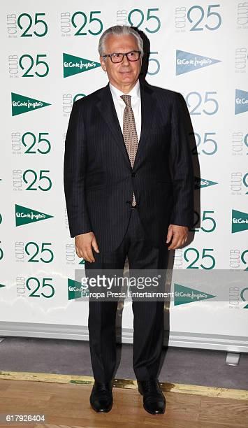 Baltasar Garzon attend 'Club de las 25' Awards 2016 on October 24, 2016 in Madrid, Spain.
