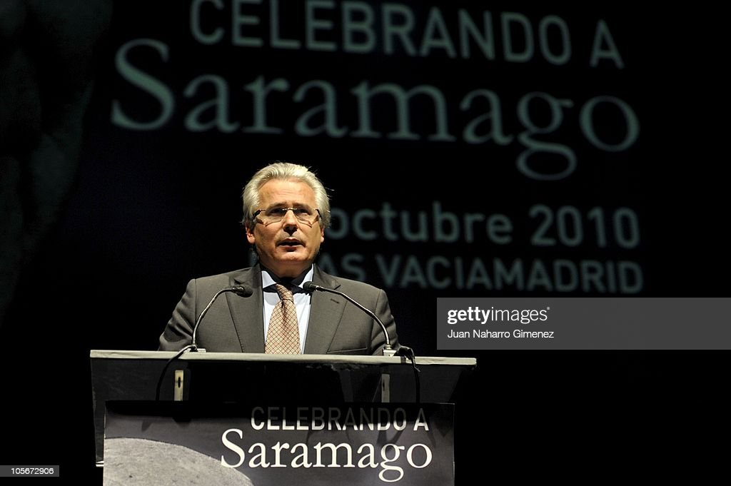 Celebrities Attend Jose Saramago's Tribute