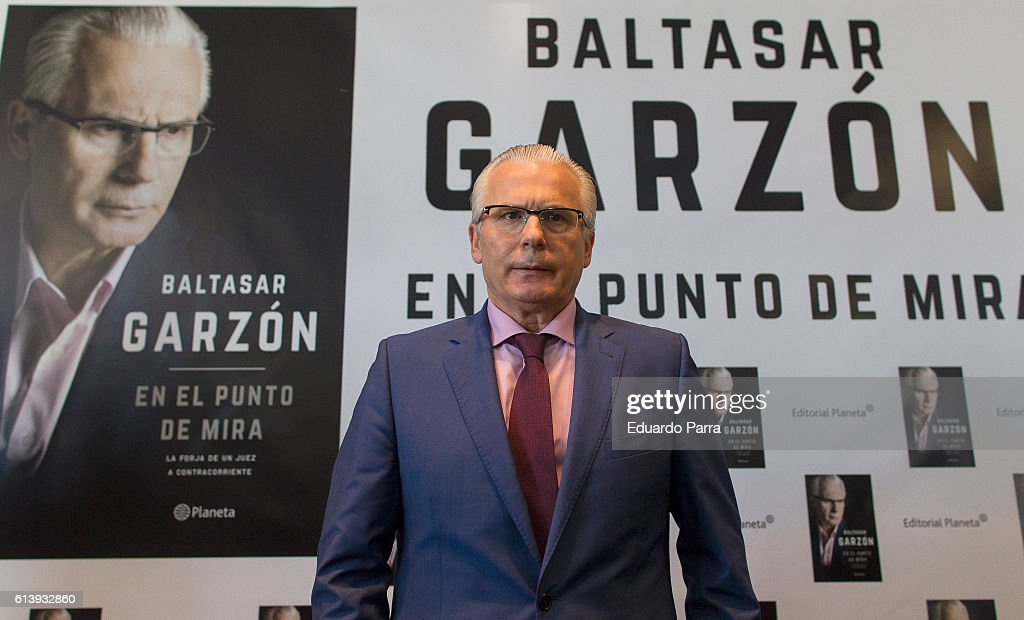 Baltasar Garzon Presents His New Book