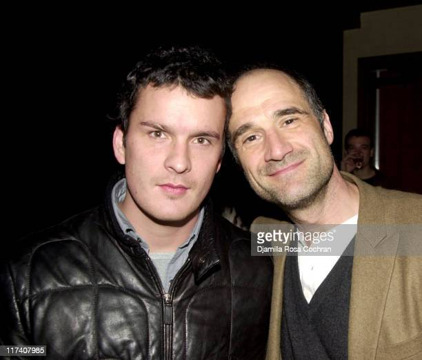 Balthazar Getty and Elias Koteas during USA Network's Special Advance Screening and After Party of Part One of Traffic The Miniseries at Tribeca...