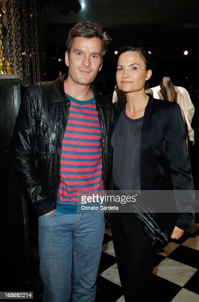 Balthazar Getty and Rosetta Getty attend Saks Fifth Avenue Honors Haider Ackermann at Mr Chow on May 9, 2013 in Beverly Hills, California.