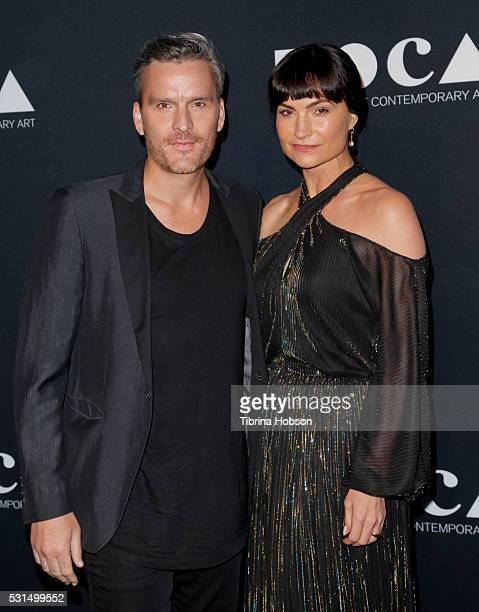 Balthazar Getty and Rosetta Getty attend the 2016 MOCA Gala at The Geffen Contemporary at MOCA on May 14 2016 in Los Angeles California
