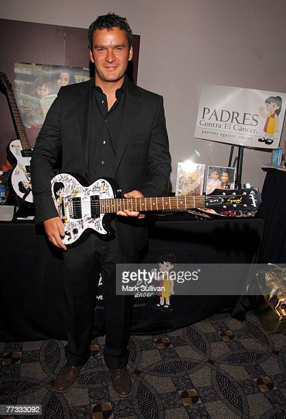 Balthazar Getty at Backstage Creations at the 2007 ALMA Awards