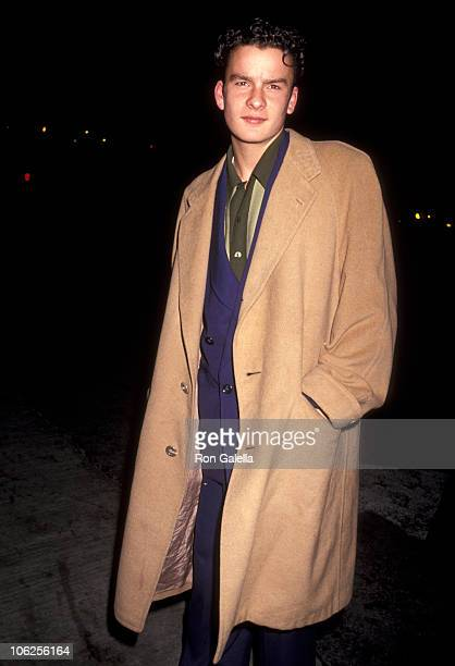 Balthazar Getty during Balthazar Getty Sighting at Spago January 9 1991 at Spago in West Hollywood California United States