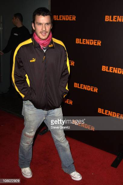 Balthazar Getty during Camp Freddy Performs Live At Blender Sessions at Ivar in Hollywood California United States