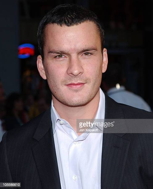Balthazar Getty during Ladder 49 Los Angeles Premiere Arrivals at El Capitan in Hollywood California United States