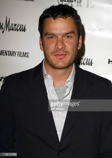 Balthazar Getty during Men's Vogue Hosts a Private Screening of Helmut by June with Brett Ratner at Neiman Marcus in Beverly Hills California United...
