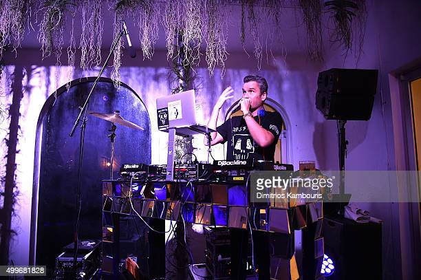 28e7c1b9b658 Balthazar Getty performs at Chrome Hearts Celebrates Art Basel With Laduree  Sean Kelly And A Live