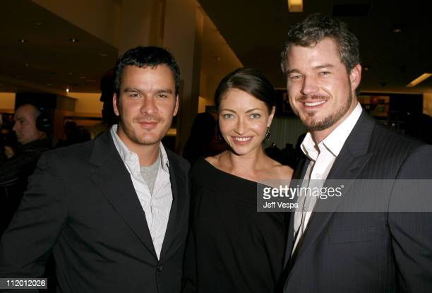 Balthazar Getty Rebecca Gayheart and Eric Dane during Men's Vogue Hosts a Private Screening of Helmut by June with Brett Ratner at Neiman Marcus in...