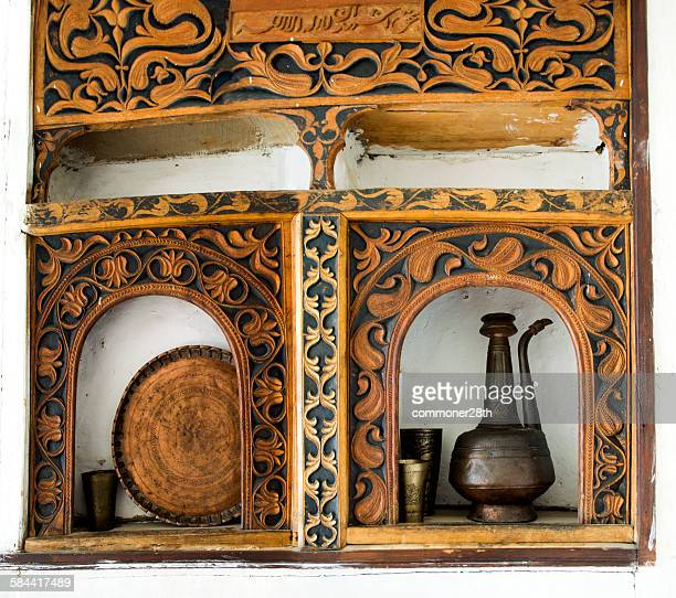 balti artifacts - hunza valley stock pictures, royalty-free photos & images
