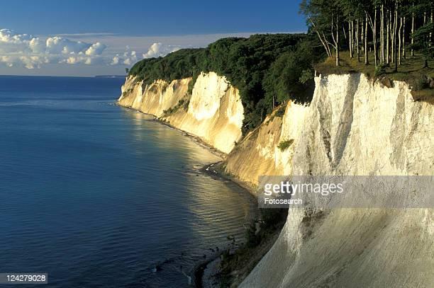 baltic, blue, banks, baltic sea, arkona - 炭酸石灰 ストックフォトと画像