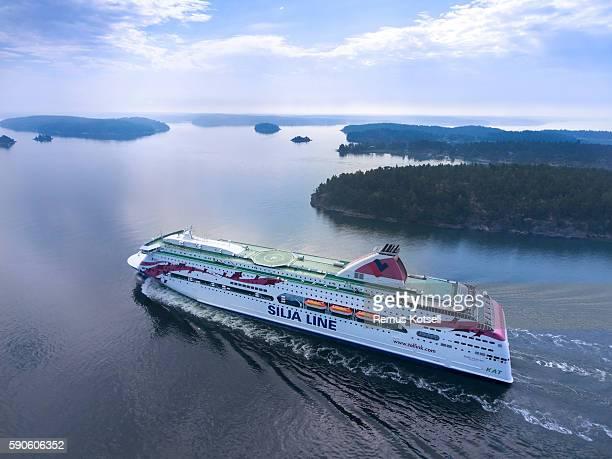 baltic princess cruiser ship - passenger craft stock pictures, royalty-free photos & images
