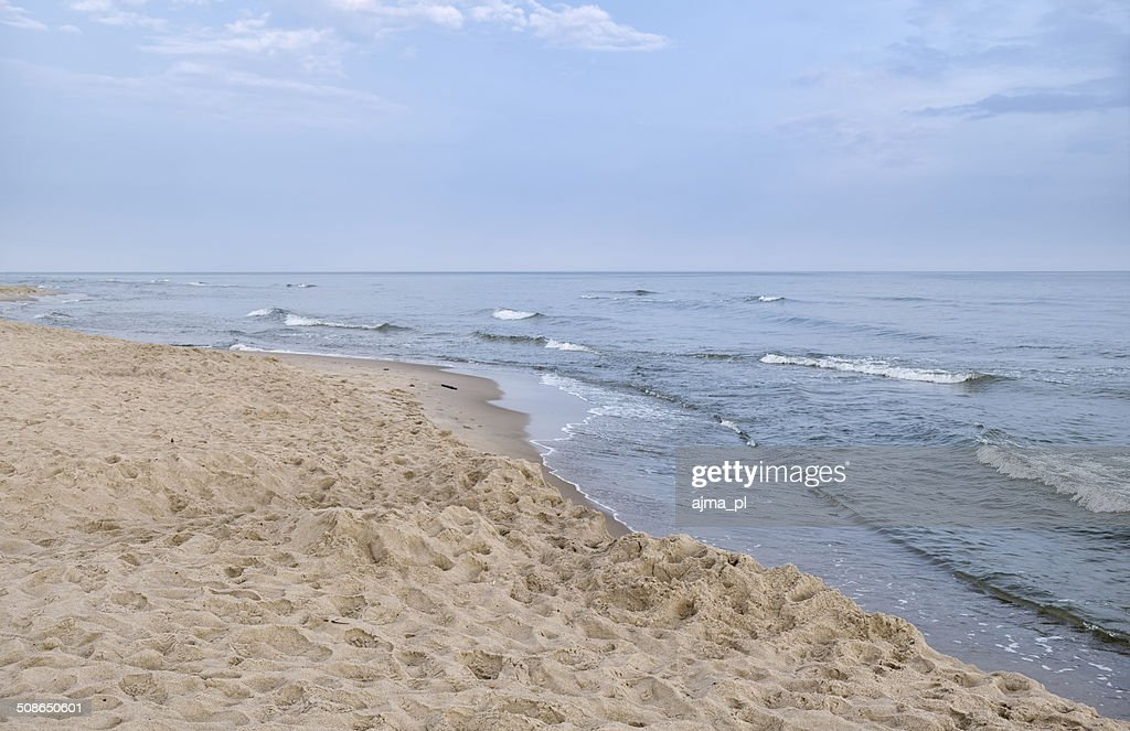Baltic Sea Coastline : Stock Photo