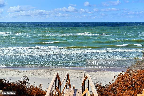 baltic sea - kaliningrad stock pictures, royalty-free photos & images