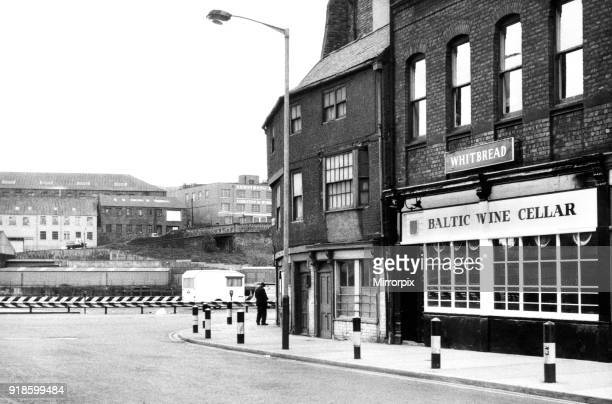 Baltic Wine Cellar Public House by the corner of Broad Chare and the Quayside Newcastle 2nd June 1974 Whitbread Brewery