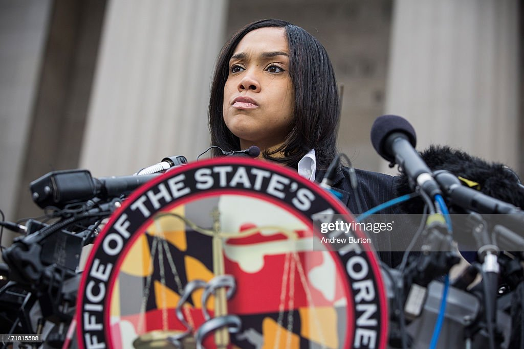 Criminal Charges Announced Against Baltimore Police Officers In Freddie Gray's Death : Nachrichtenfoto
