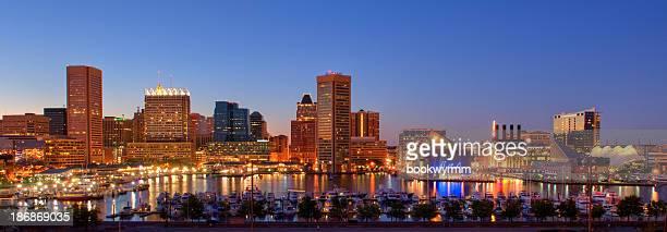 Baltimore Cityscape