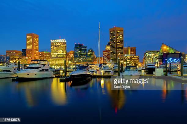 Baltimore Cityscape / Skyline