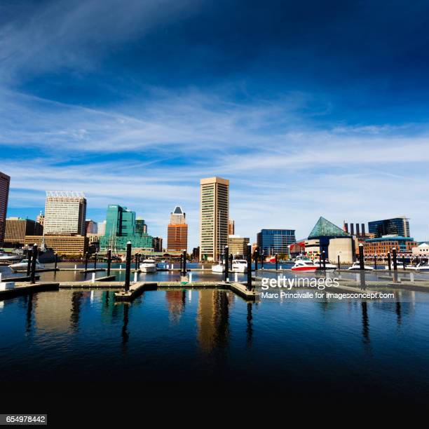 baltimore harbour - baltimore maryland - fotografias e filmes do acervo