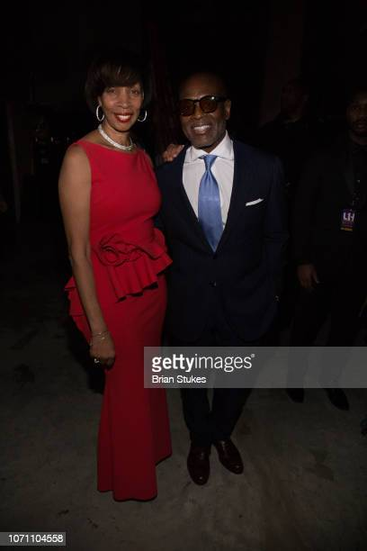 Baltimore mayor Catherine Pugh and LA Reid attend 2018 Urban One Honors at The Anthem on December 9 2018 in Washington DC