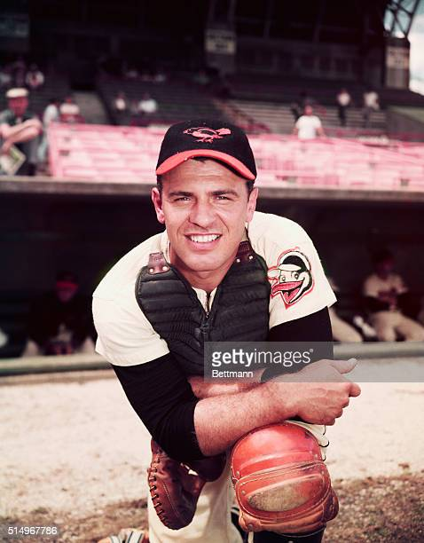 Baltimore Orioles Catcher Gus Triandos