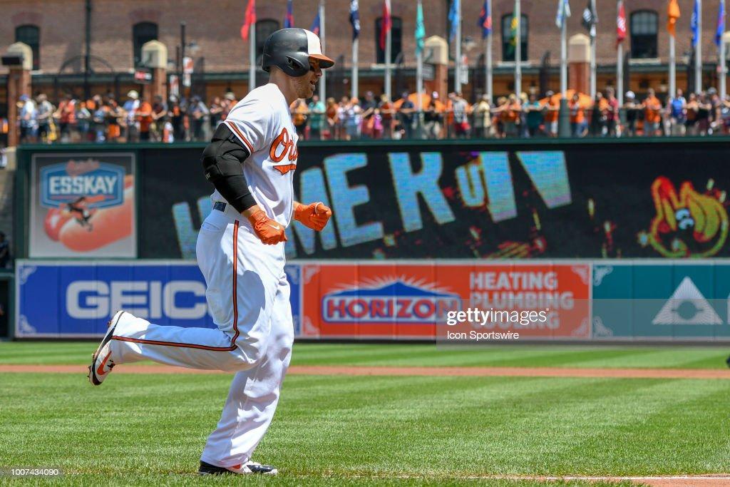 MLB: JUL 29 Rays at Orioles : News Photo