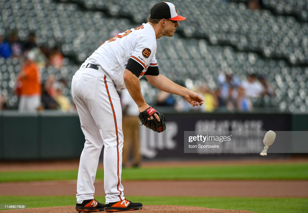 Baltimore Orioles Starting Pitcher John Means Tosses The