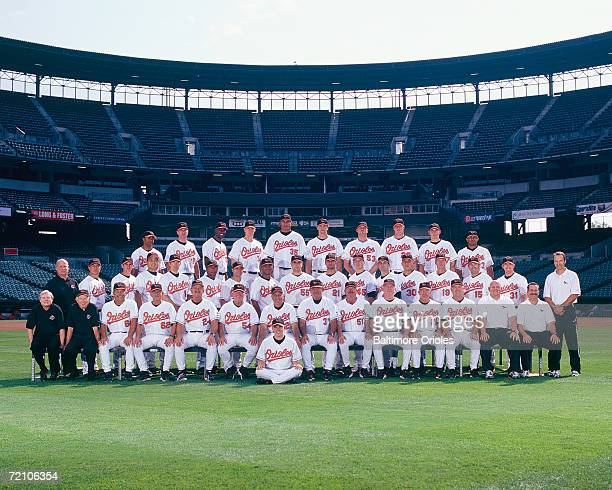 Baltimore Orioles team photo at Camden Yards in Baltimore Maryland on September 14 2006 Photo by Baltimore Orioles MLB Photos via Getty Images