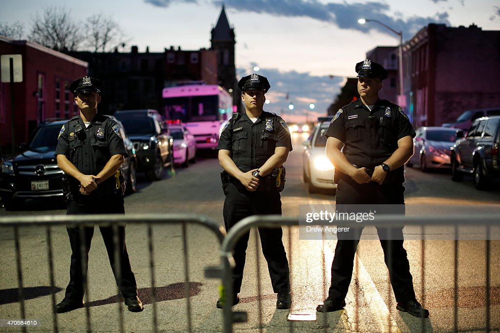Protesters Hold Vigil And March Over Death Of Freddie Gray After Police Arrest : News Photo
