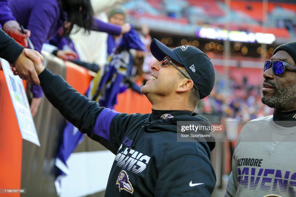 NFL: DEC 22 Ravens at Browns : News Photo