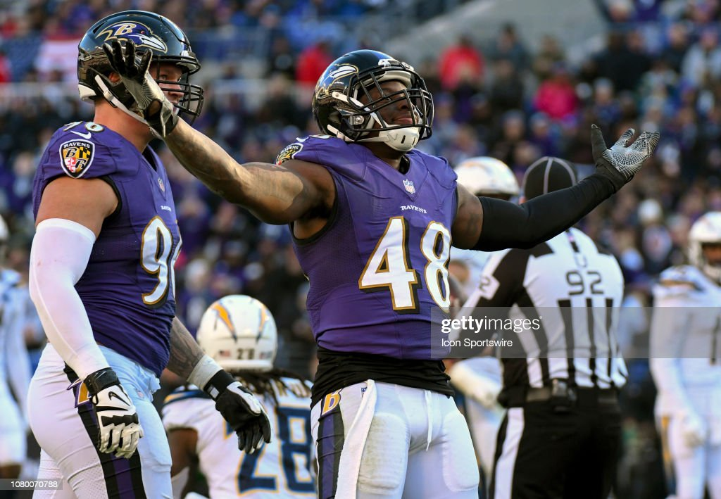 NFL: JAN 06 AFC Wild Card - Chargers at Ravens : News Photo