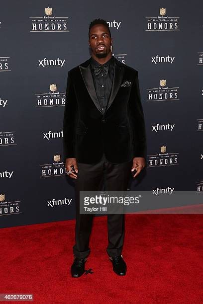 Baltimore Ravens linebacker CJ Mosley attends the 2015 NFL Honors at Phoenix Convention Center on January 31 2015 in Phoenix Arizona