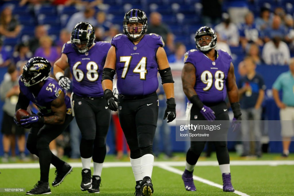 NFL: AUG 20 Preseason - Ravens at Colts : News Photo