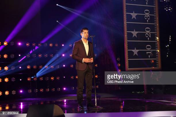 Baltimore Ravens placekicker Justin Tucker rehearses before competing to be crowned the MVP MOST VALUABLE PERFORMER during a onehour interactive...