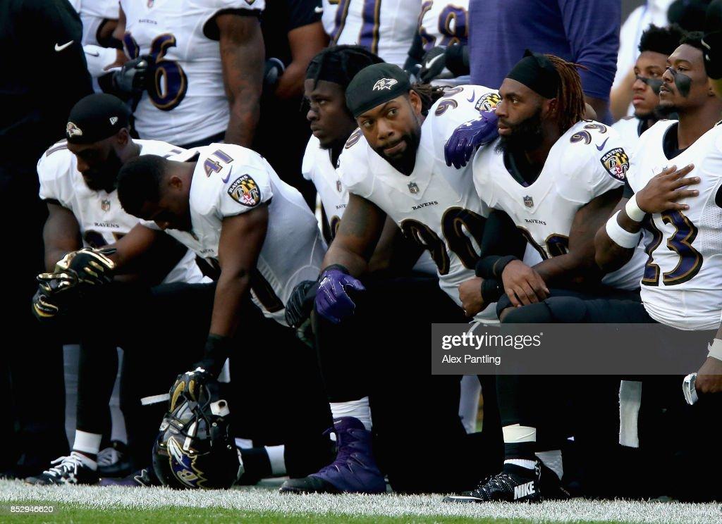 Baltimore Ravens vsJacksonville Jaguars : Nachrichtenfoto