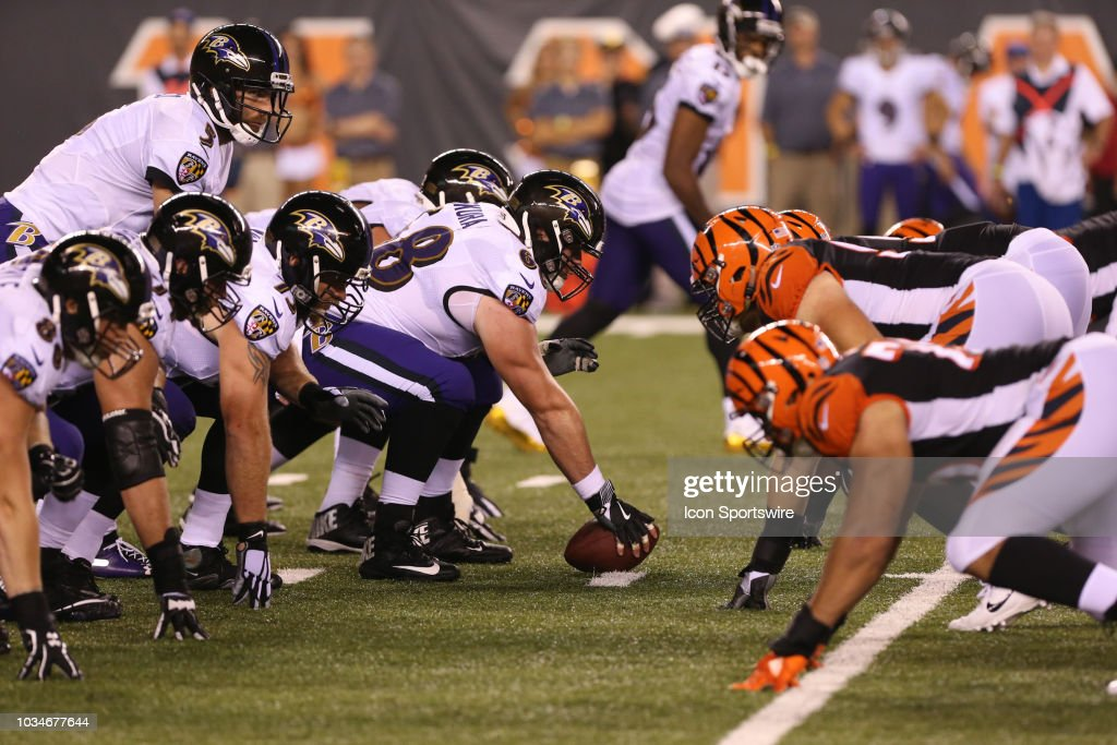 NFL: SEP 13 Ravens at Bengals : News Photo
