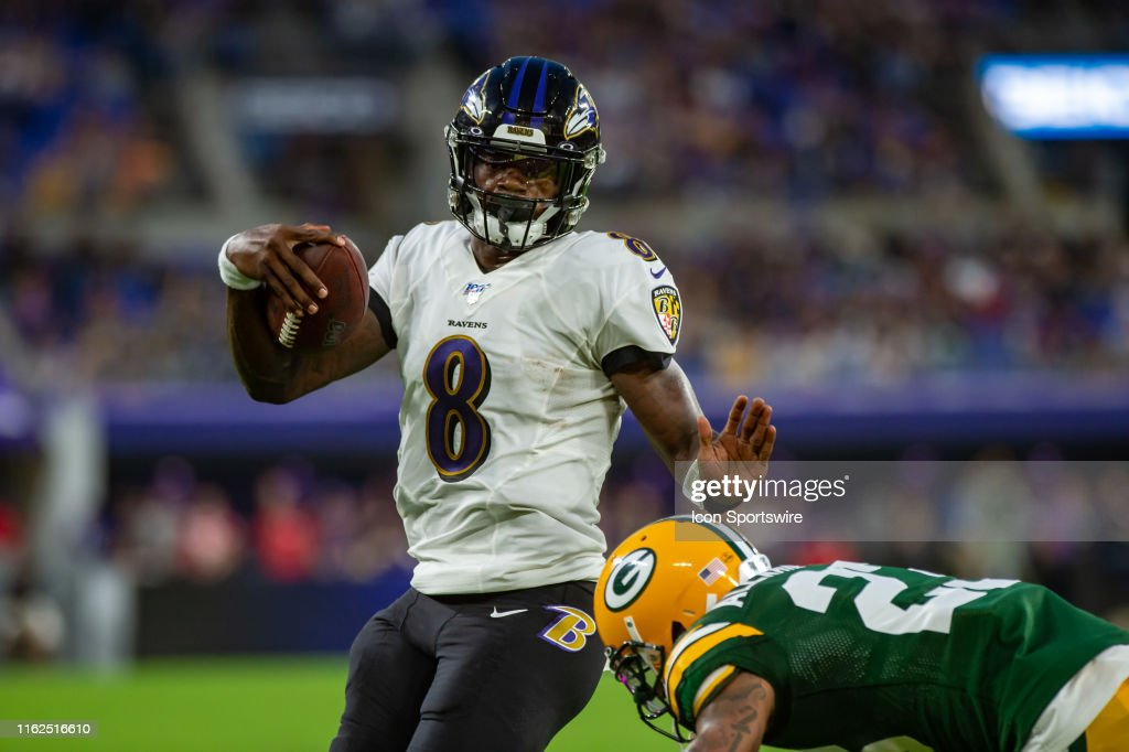 NFL: AUG 15 Preseason - Packers at Ravens : News Photo