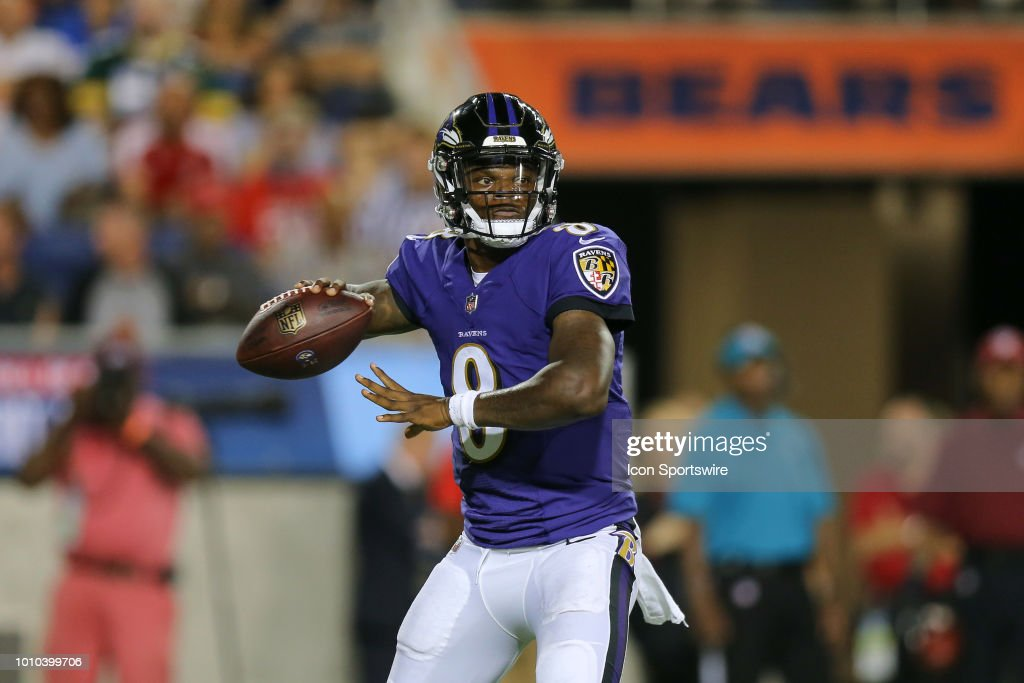 NFL: AUG 02 Hall of Fame Game - Bears v Ravens : News Photo